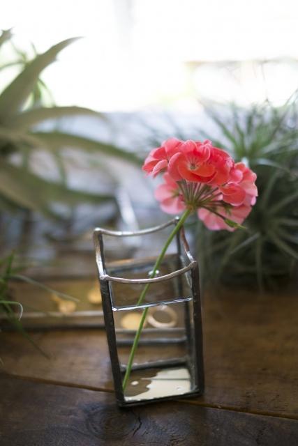 ステンドグラス花瓶