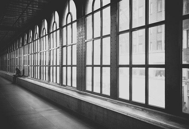 ステンドグラス 透明ガラス