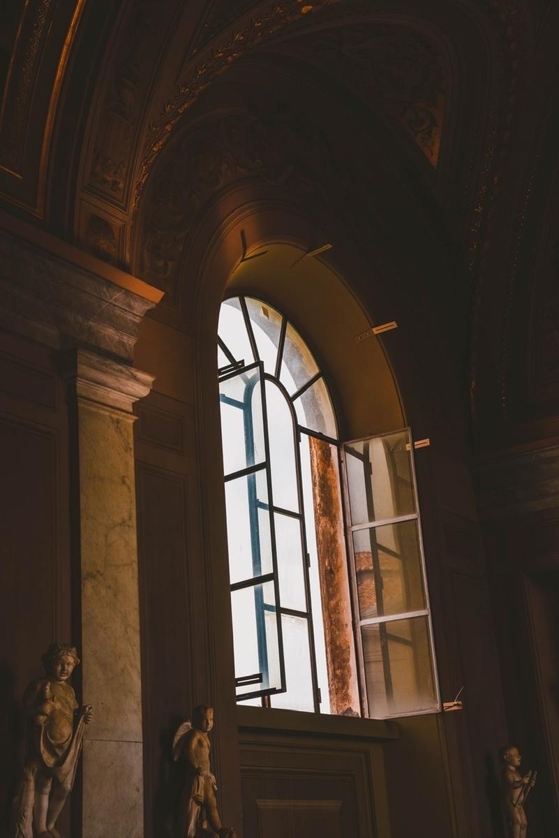 ステンドグラス 透明窓