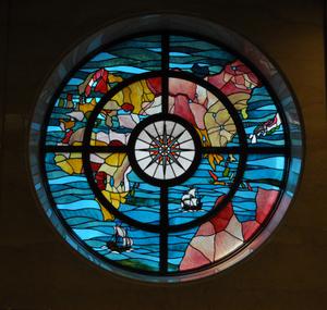 ステンドグラス 神戸市立博物館