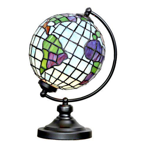 ステンドグラス 地球儀