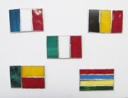 ステンドグラス 国旗