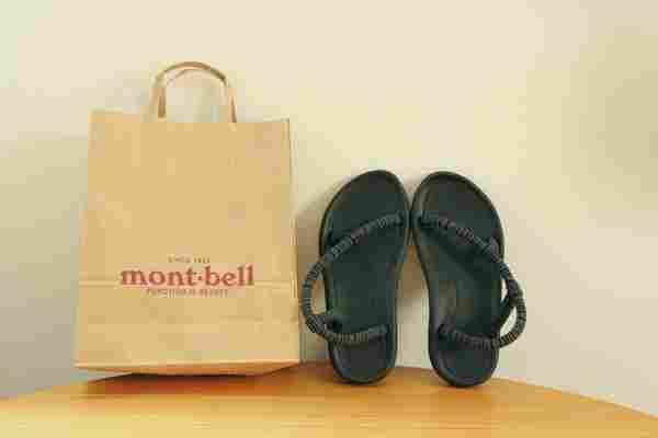 Montbellのサンダル