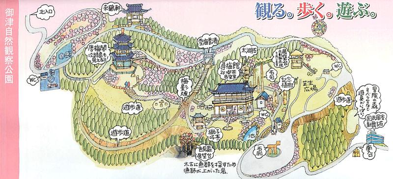 の 梅 公園 世界