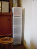 CDの減量 棚と箱 3