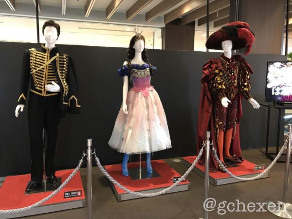 オペラ座の怪人衣装展示