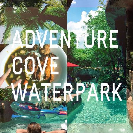 シンガポール セントーサ島にあるアドベンチャーコーブ ウォーターパーク プール