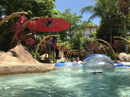 流れるプール シンガポール セントーサ島