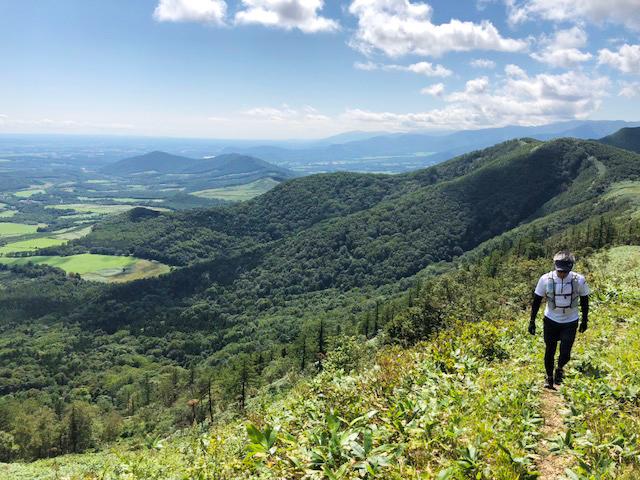 景色が綺麗な佐幌岳の登山道