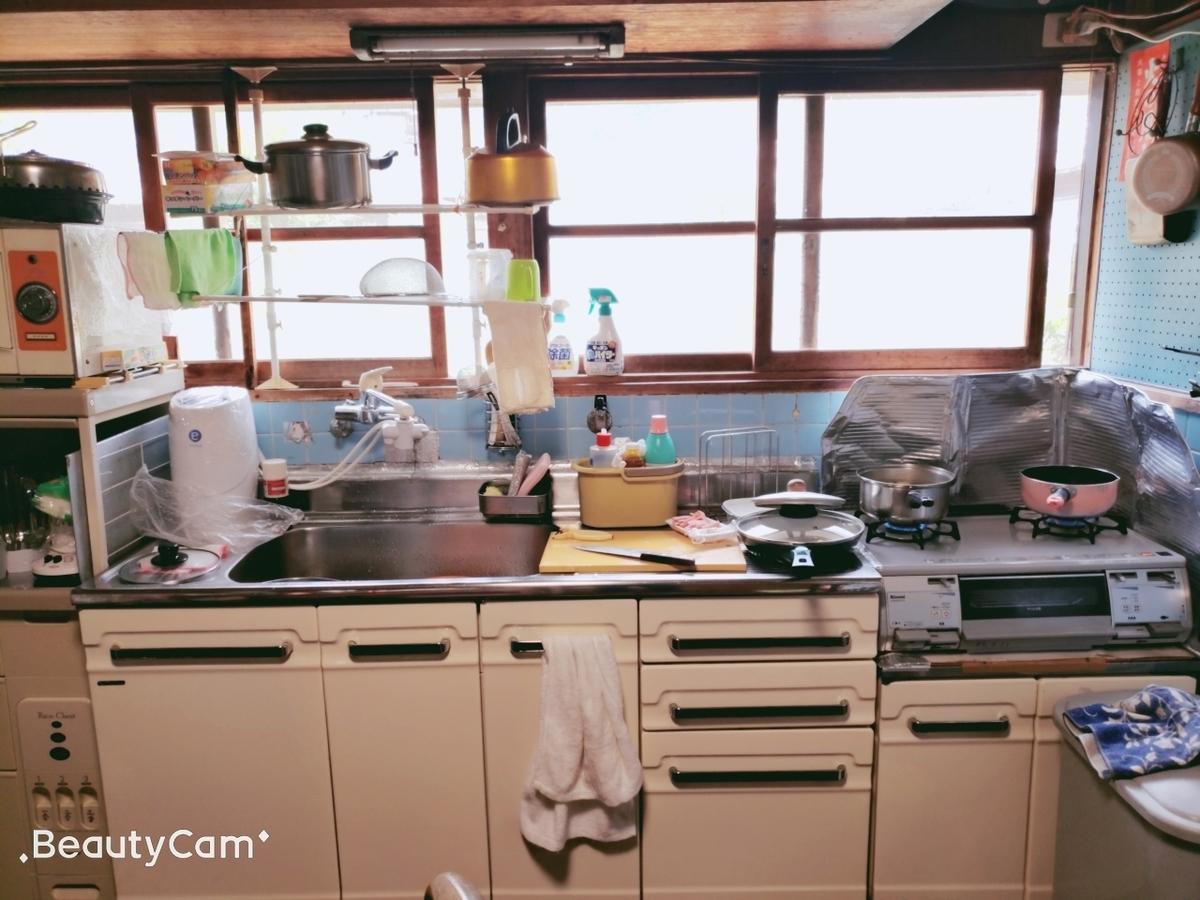 おばあちゃん家の台所