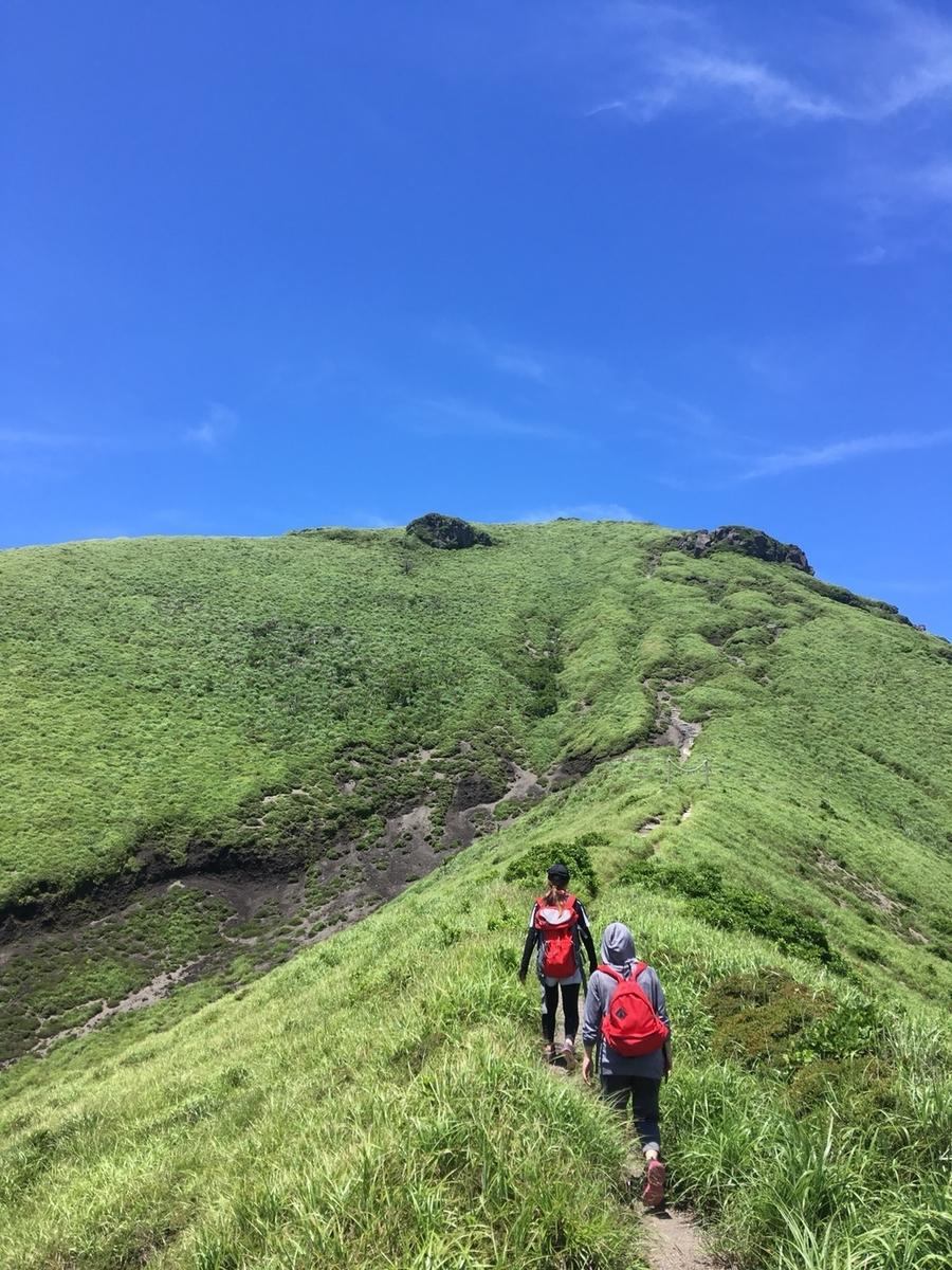 高千穂の峰、霧島登山