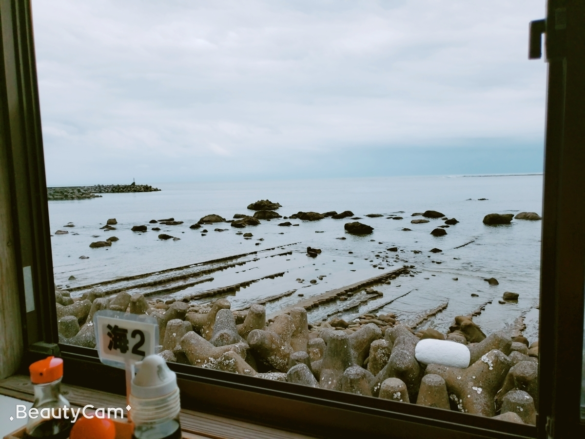 日南海岸の洗濯岩