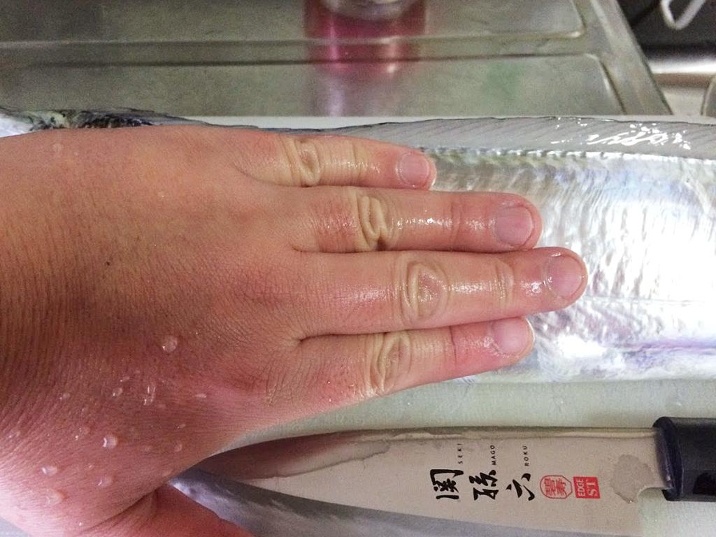 指四本ちょい