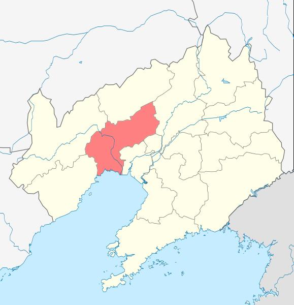 遼寧省錦州市地図