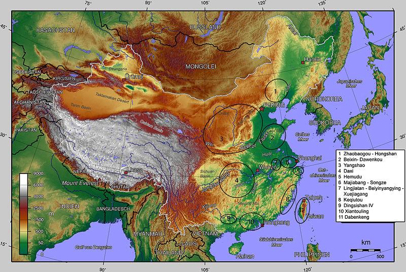 中国新石器時代文化