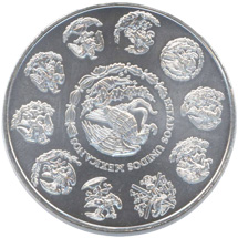 Mexikanische Libertad Silbermünze 2010