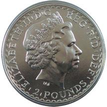 1 Unze Silber Britannia 2009
