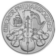 Philharmoniker 1 Unze Silbermünze 2010