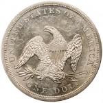 Rückkehr zum Silbermünze Blog mit einem Seated Liberty Silver Dollar von 1842
