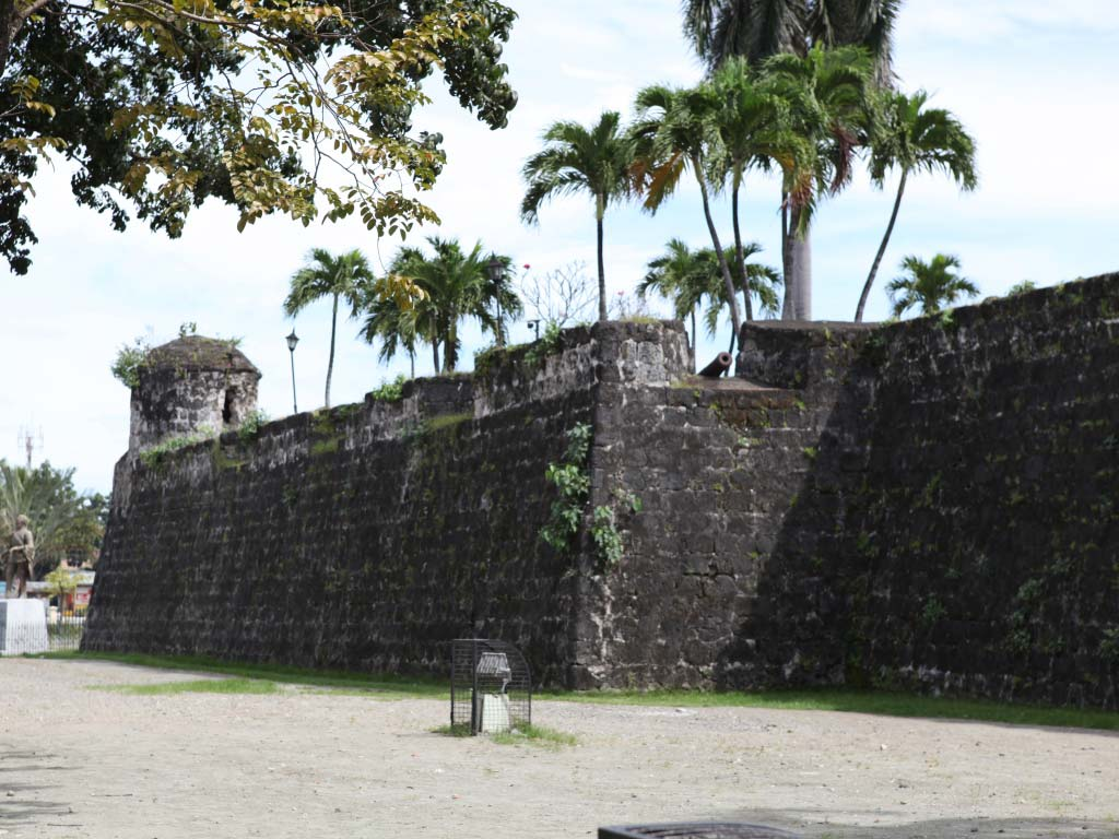Fort San Pedro exterior view