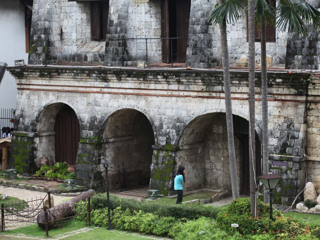 Fort San Pedro Main Building interior view