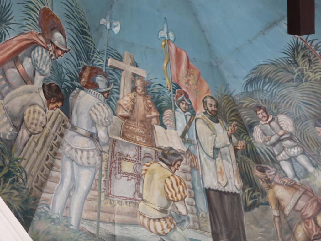 Magellan Cross murals