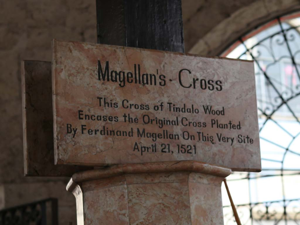 Magellan Cross plaque