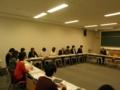 平沢勝栄|慶応大学三田キャンパスにて|2012年4月9日