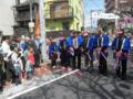 平沢勝栄|第21回東立石さくらまつりでテープカット|2012年4月15日