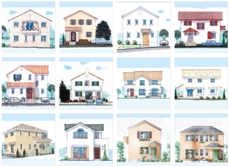 ロビンスジャパン、輸入住宅、地中海風テイスト、デザイン