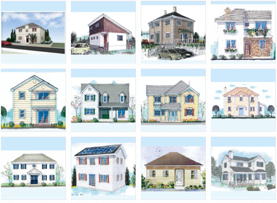 ロビンスジャパン、輸入住宅、北米風テイスト、デザイン