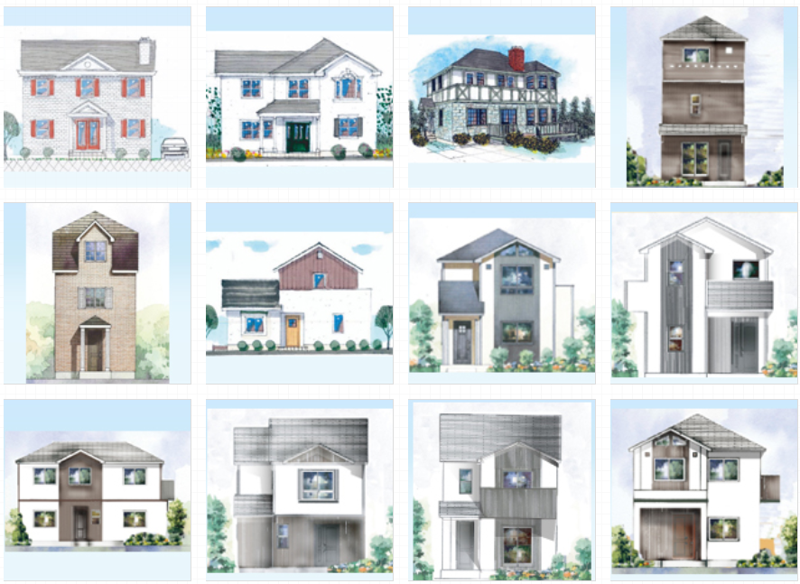 ロビンスジャパン、輸入住宅、英国風、モダンテイスト、デザイン
