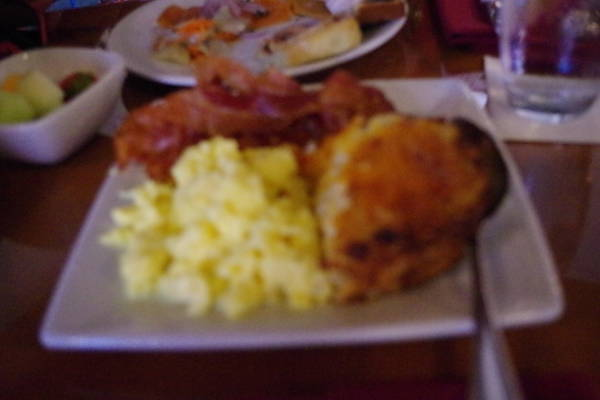 アケシュースロイヤルバンケットホールの朝食