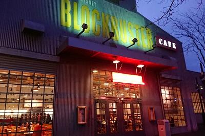 ディズニーブロックバスターカフェの外観