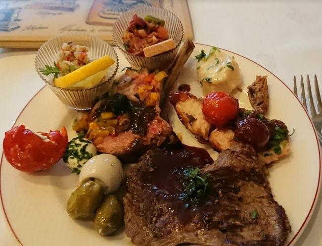 DLP インベンションで食べた料理