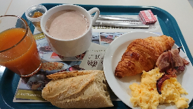B&B Hotel Torcyの朝食