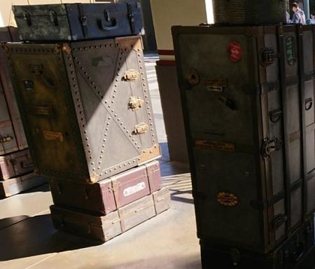 ガーディアンズオブギャラクシーミッションブレイクアウト のファストパス発券機