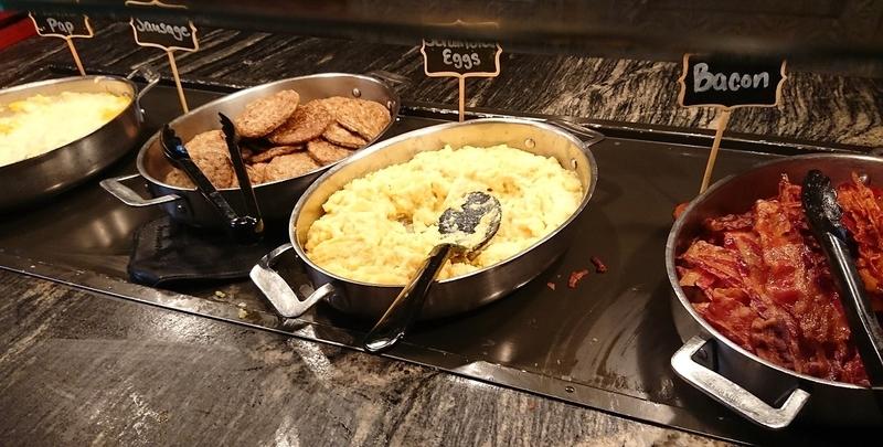 タスカーハウスレストランの朝ごはん