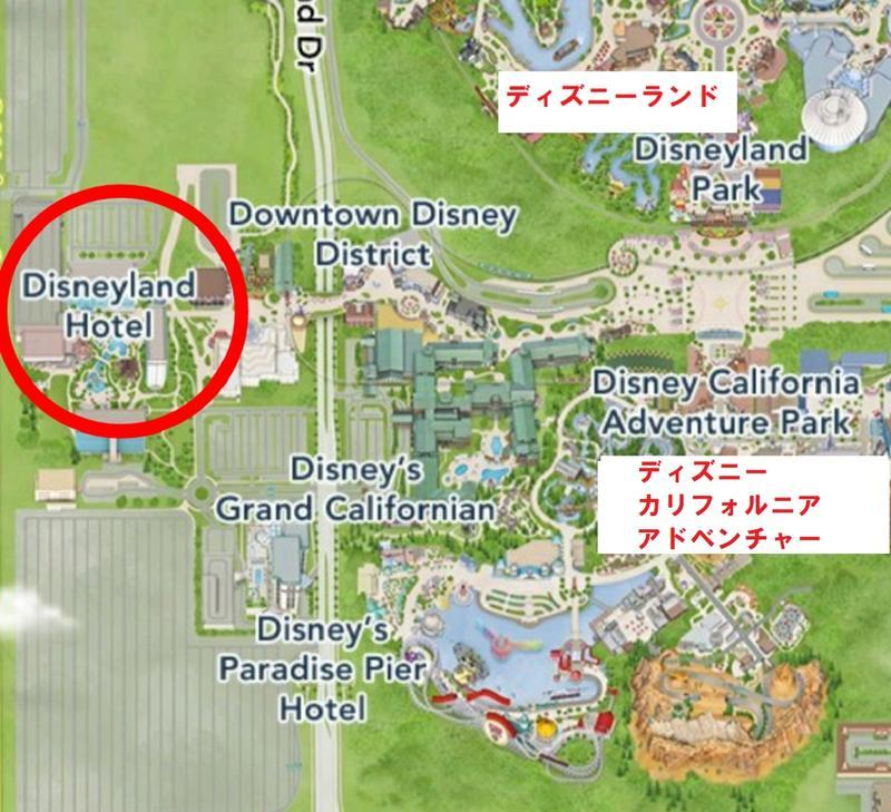 グーフィーズキッチンの地図