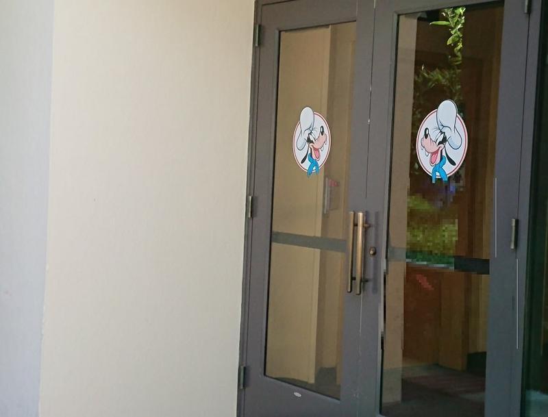 グーフィーズキッチンのドア