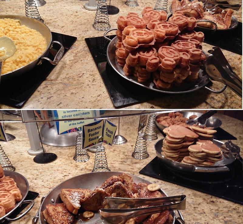グーフィーズキッチンのミッキーワッフル