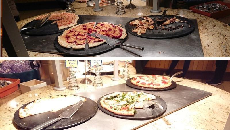 グーフィーズキッチンのピザ