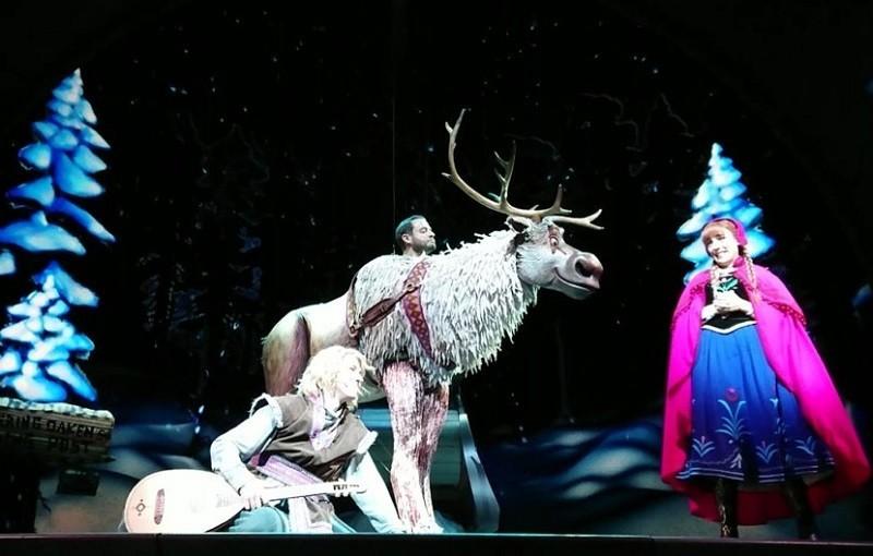 Frozen Live at the Hyperion トナカイのほうがずっといい