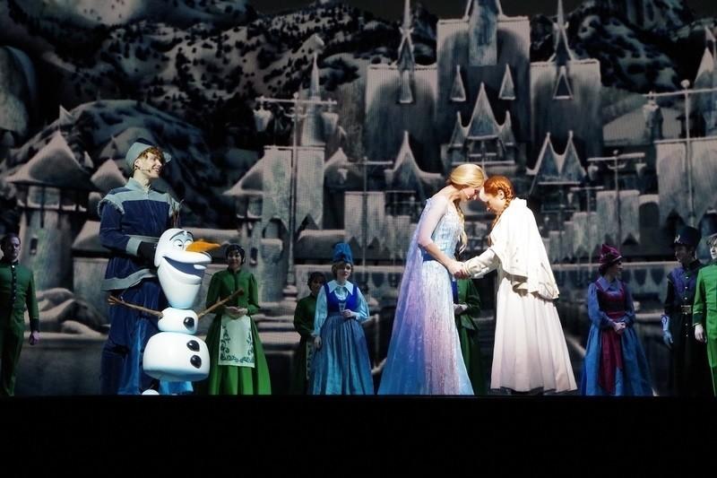 Frozen Live at Hyperionの扉開けてのラスト
