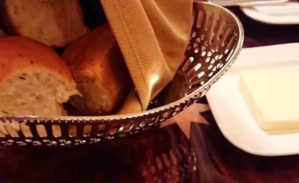 カーセイサークルレストランのパン