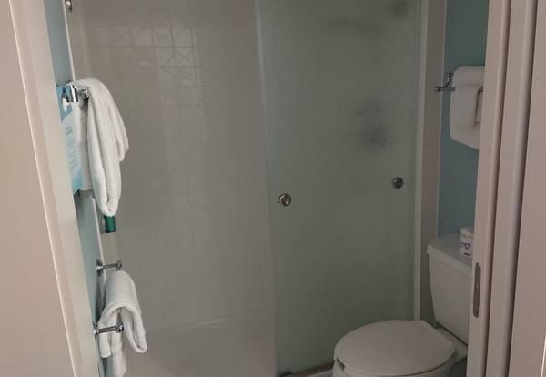 ポップセンチュリーのバスルーム