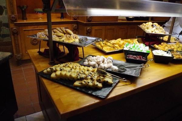 アケシュースロイヤルバンケットホールのパン