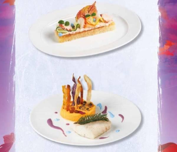 オーベルジュ ド サンドリオンの料理