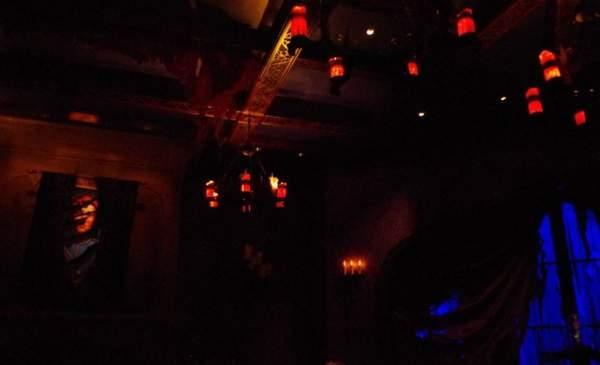 美女と野獣のレストラン Be our guest restaurantの西の棟の部屋