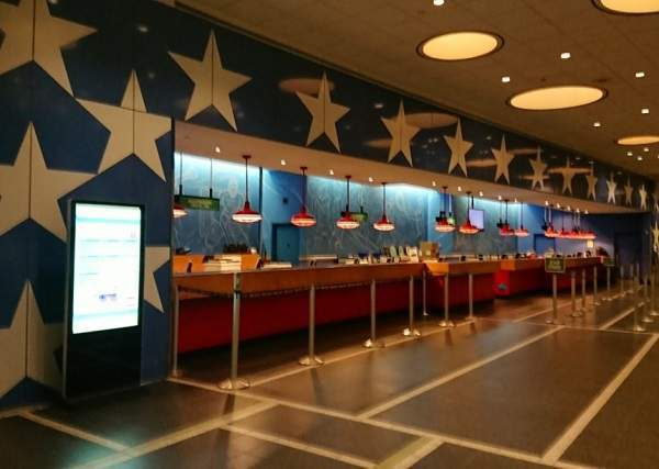 オールスタースポーツリゾートのフロント